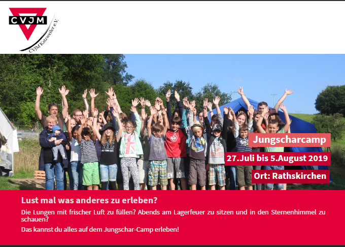 Jungscharcamp 2019