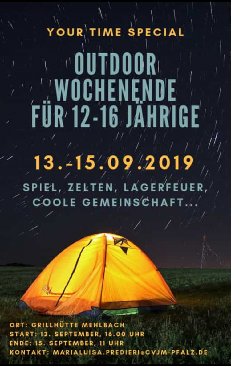Your Time Special Outdoorwochenende